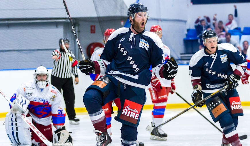 Recap: Ice Dogs take down Newcastle in Shootout
